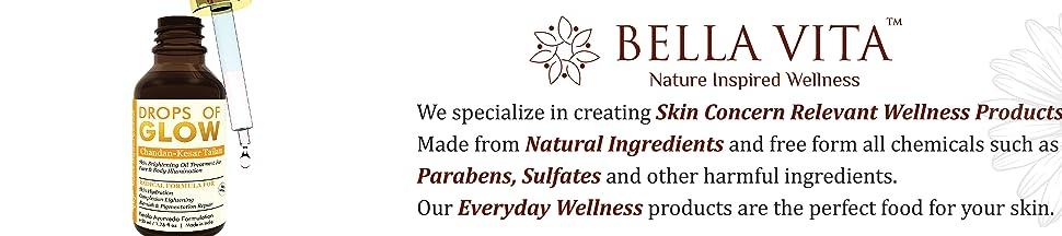 bella vita organic bellavita drops of glow face serum face oil sandalwood saffron