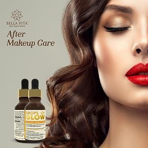 make up post make up care skin healing essential oil face serum fairness hydrating moisturiser