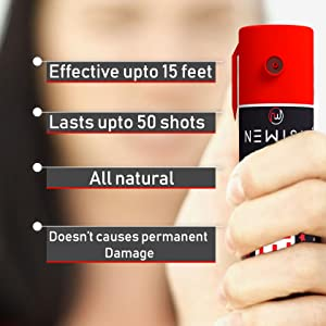 pepper spray with led | pepper spray with light | pepper spray with lock | pepper spray