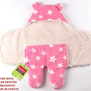 BRANDONN Sleeping Bag for Babies (Pink)