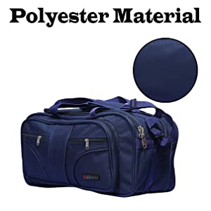 Bleu Polyester 53.34 cms Blue Travel Duffle (TB-509) 24b7b40363dd2