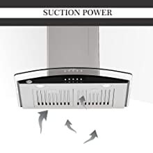grey chimney kaff suction