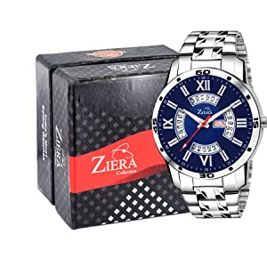 watches wirst watches day and date men boys stainless steel watches chain silver watch men watches