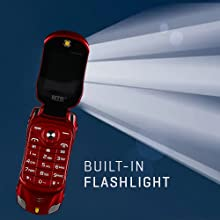 Built-in Flashlight