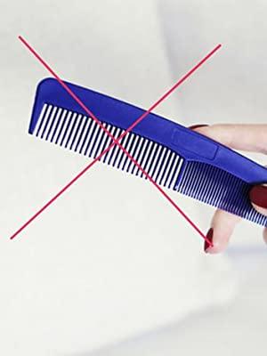 no plastic comb, anti static good for health, healthy, boy, girl, woman , man