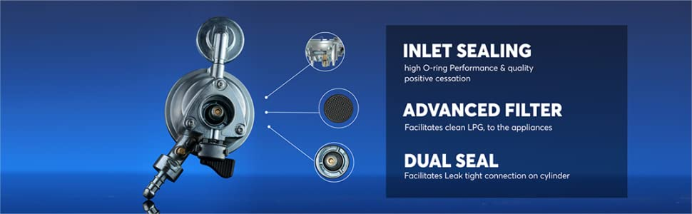 INLET SEALING, ADVANCED FILTER, DUAL SEAL