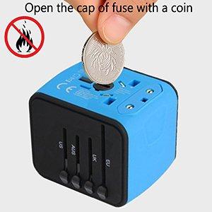 power socket converter safety fuse