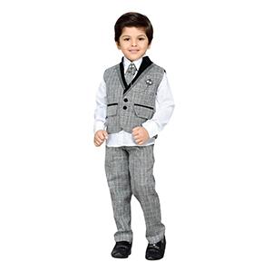 1e8d5c73f AJ DEZINES Khadi Kid s Party Wear Suit Set  Amazon.in  Clothing ...