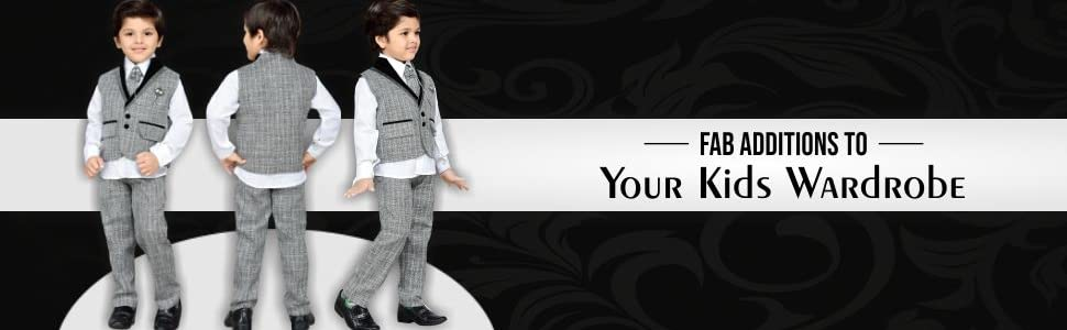 6a875a9bf87e AJ DEZINES Kid's Khadi Suit Set (Grey): Amazon.in: Clothing ...