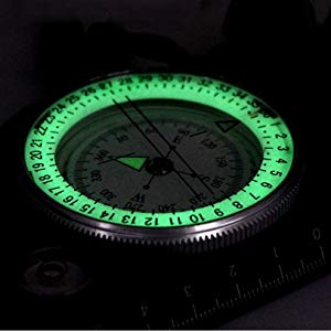 International Professional Multifunction Military Army Metal Sighting High Waterproof Compass