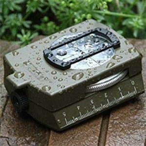 Professional Multifunction Military Army Metal Sighting Compass High Accuracy Waterproof Compass