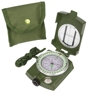 International Professional Multifunction Military Army Metal Sighting High Accuracy Compass