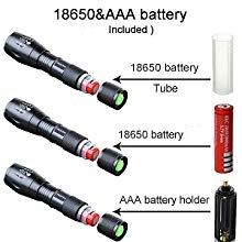 RECHARGEABLE RECHARGABLE EMERGENCY HIGH POWER FLASHLIGHT TORCH