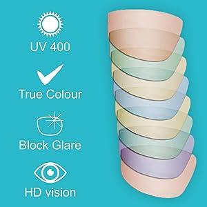 Vast UV Protection Unisex Sport Sunglasses