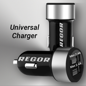 dual port 2 usb car charger