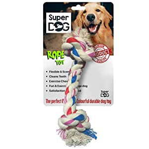 Super Dog Rope Toy