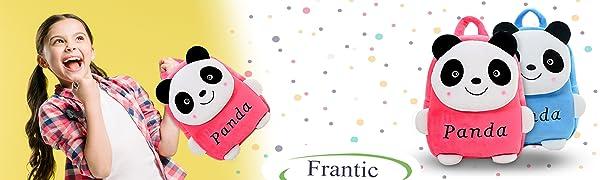 frantic panda school bags for kids