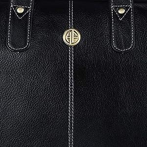 Leather Laptop Messenger Bag