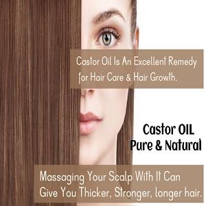 castor oil hair care