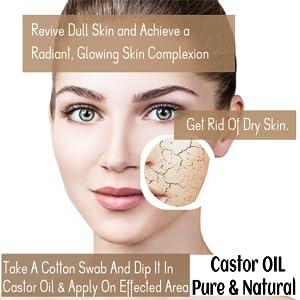 dryskin dry skin castor oil dull skin