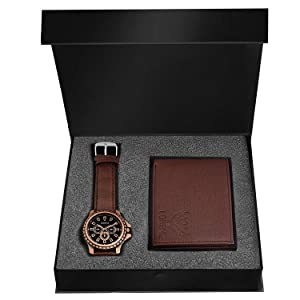 wallet and watch combo