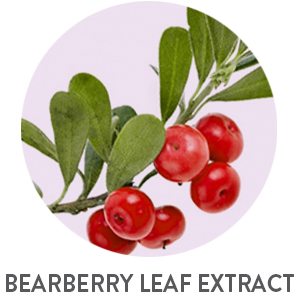 BEARBERRY LEAF, BEARBERRY EXTRACT, UNDERARM WHITENING