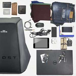 GODS Ghost Anti-Theft Laptop Backpack 96439ceeaf9d7
