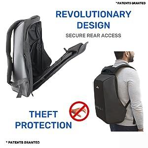 Gods anti theft laptop backpack