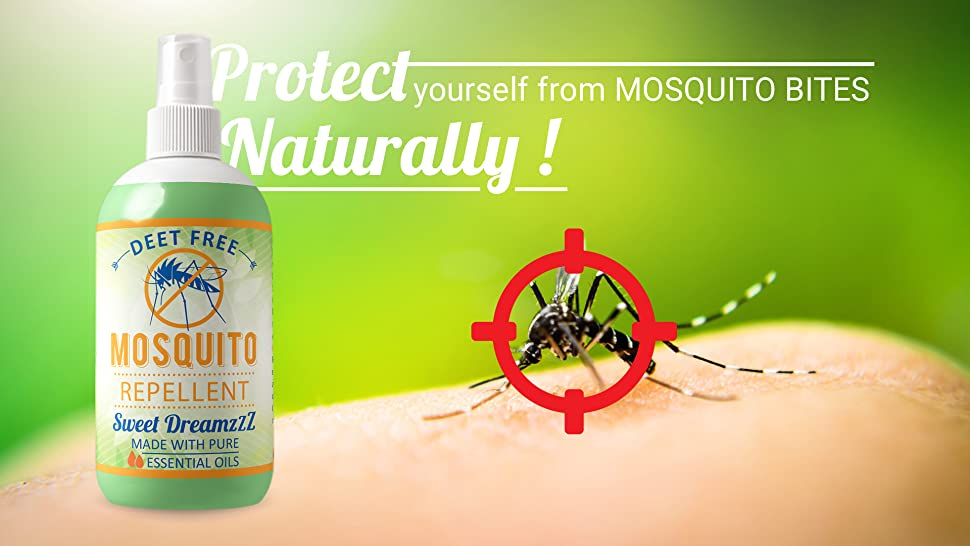 Aromakrafts Natural Mosquito Repellent Room Spray With Essential
