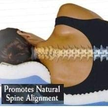 Promotes Natural Spinal Alignment