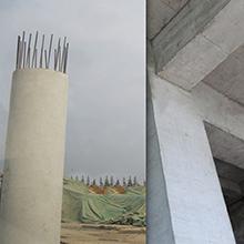 beam waterproofing, column waterproofing