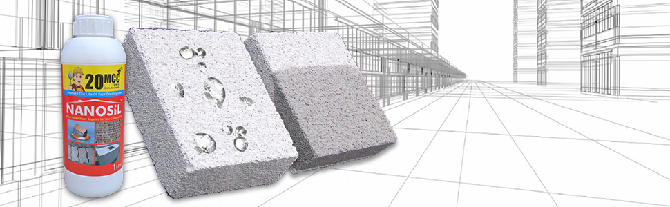 Waterproofing India, nanosil 1 liter, 20 MCC