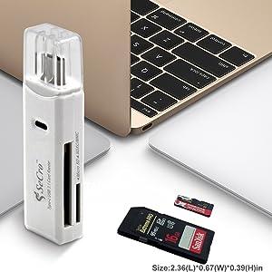 USB C Multipurpose Card Reader
