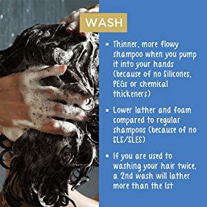 Step 1 : Hair Wash