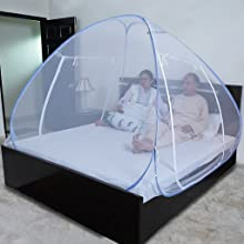 mosquito net for king size bed, mosquito net for double bed, foldable mosquito net for double bed,