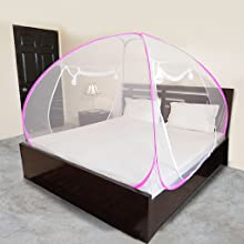 Mosquito net for king size bed, mosquito net, mosquito net for double bed, machardaani double bed,