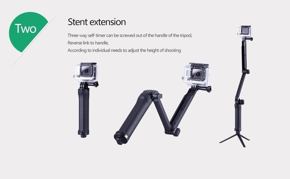 hero 7 6 monopod sjcam accessories
