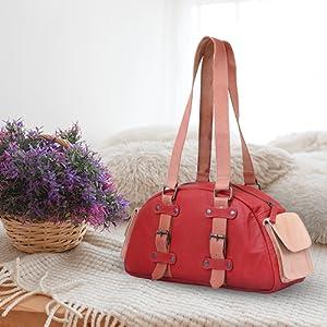 TRYSCO leather handbag