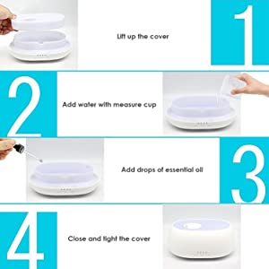 how to use cloud mist aroma diffuser how to use humidifier aroma freshner essential oil lavender