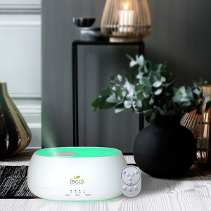 compact design remote operated aroma diffuser cloud mist  humidifier suitable for gym spa salon