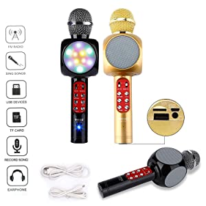 Assorted colours - Gold, black or Red.