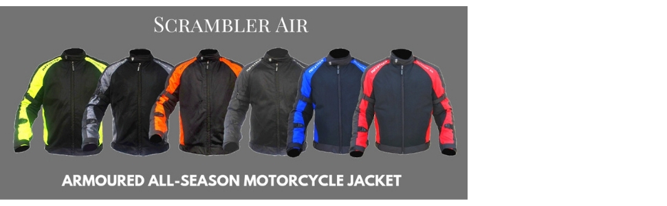 Jackets for riding gear