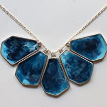 Resin Jewelery using Haksons Epoxy Resin and Hardener
