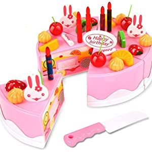 This Musical Birthday Cake Brought To You By Webby Is A Pretend Toy Entertain Your Child And Engage Them In The Most Entertaining Way
