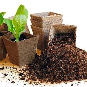 coco pot, coir pot, coconut pot, fibre pot, seedling pot