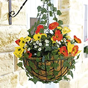 coir hanging baskets