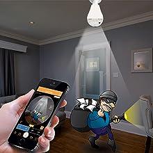 motion sensor wifi camera