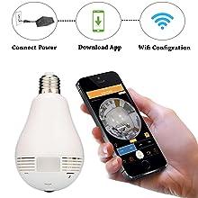 wireless hd ip wifi cctv indoor security camera