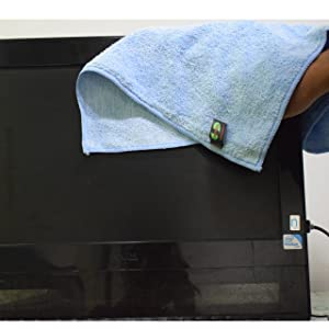 computer cleaning electronics cleaning cloth microfiber dusting sweeping