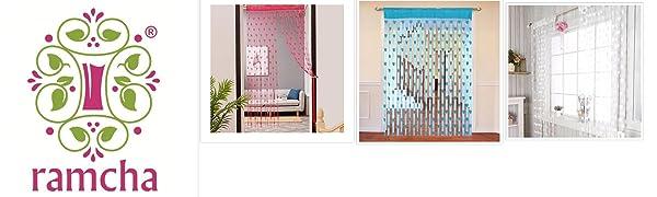 Ramcha Heart String Curtain